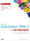 Microsoft® Expression® Web 3 On Demand (eBook)